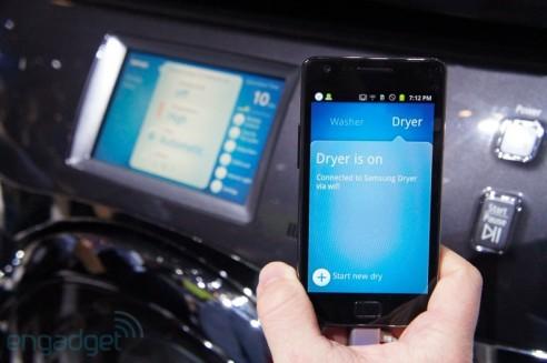 Con samsung smarthome controlli la lavatrice dal telefono for Lavatrice wifi