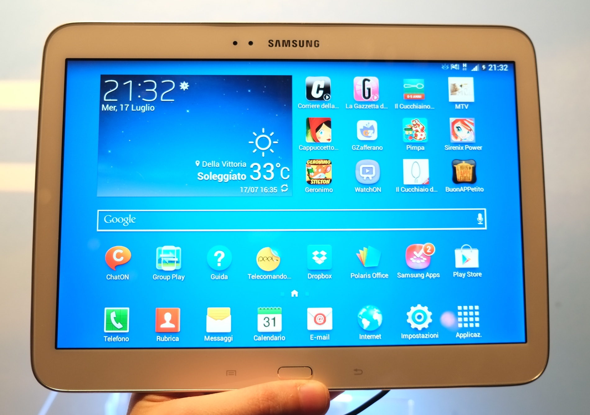 samsung galaxy tab 3 10 1 inizia l 39 aggiornamento a kitkat. Black Bedroom Furniture Sets. Home Design Ideas
