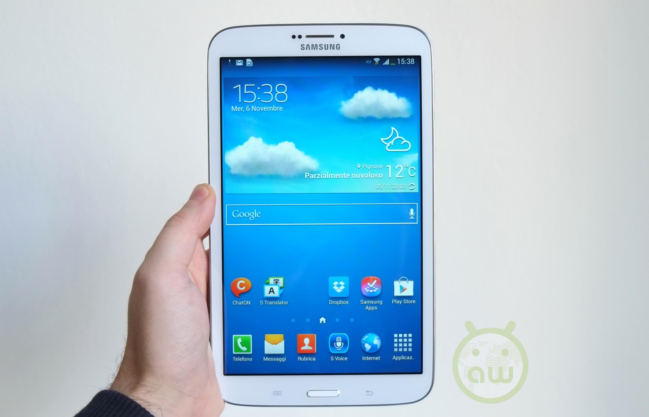 Recensione Samsung Galaxy Tab 3 8.0