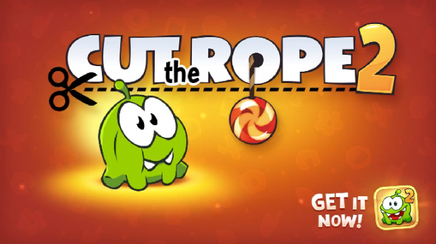 Cut the Rope 2 Android Header