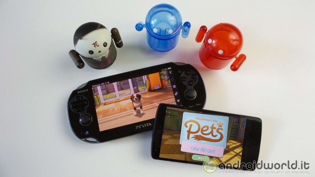 PS Vita Pets Android Header