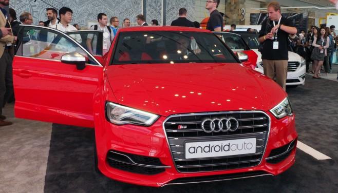 Android Auto Audi 8