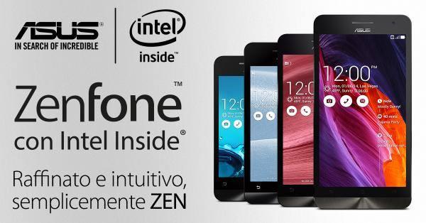 Asus zenfone disponibili in pre ordine a partire dal for Amazon sito ufficiale
