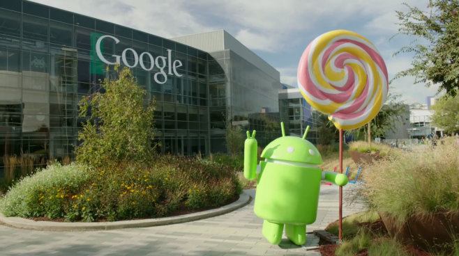 Android Lollipop Googleplex