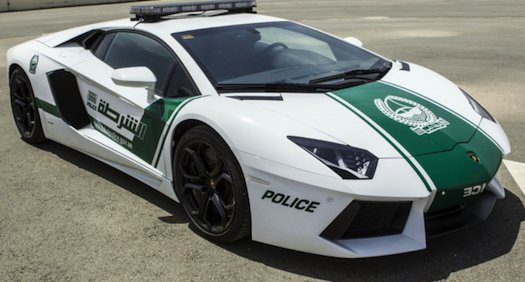 Dubai polizia Lamborghini