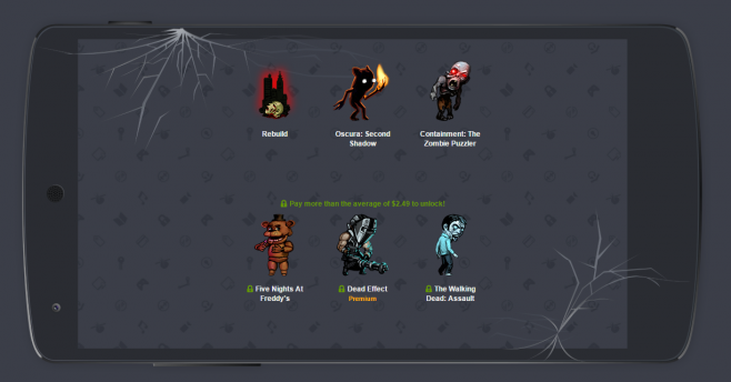 Humble Mo-Boo-ile Bundle Title