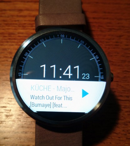 Sonos Android Wear