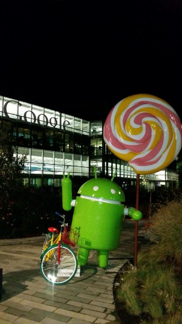 Statua Android Lollipop -1