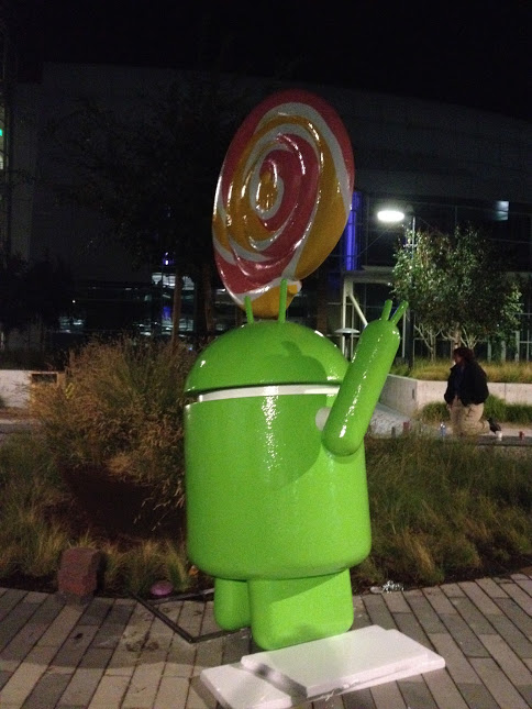 Statua Android Lollipop -4