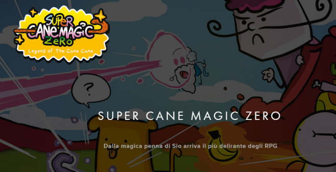 Super Cane Magic ZERO Header