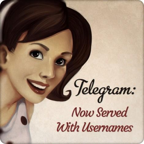 telegram anonimo