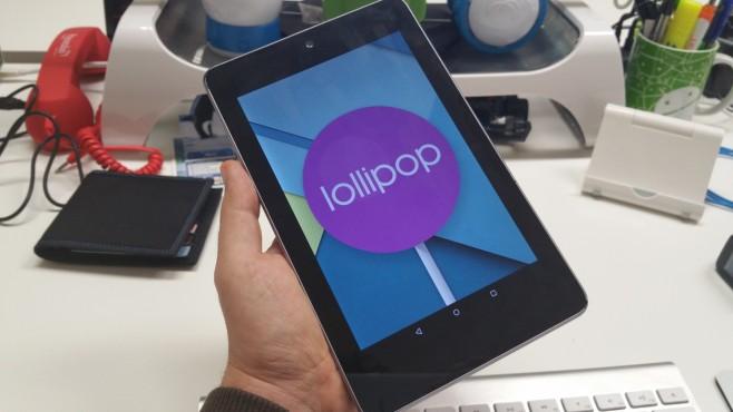 Nexus 7 2012 Lollipop Final