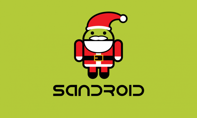 Sandroid - Android Natale