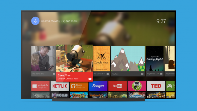 Launcher Android TV