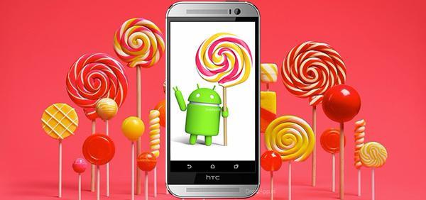 HTC One (M8) Lollipop