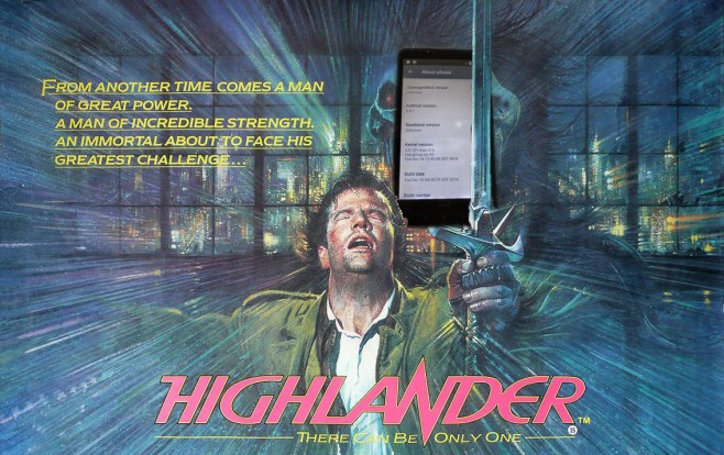 highlander HTC HD2