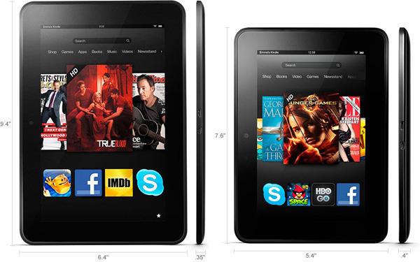 Amazon Kindle Fire HD  Tag Kindle Fire Hd 7 Size