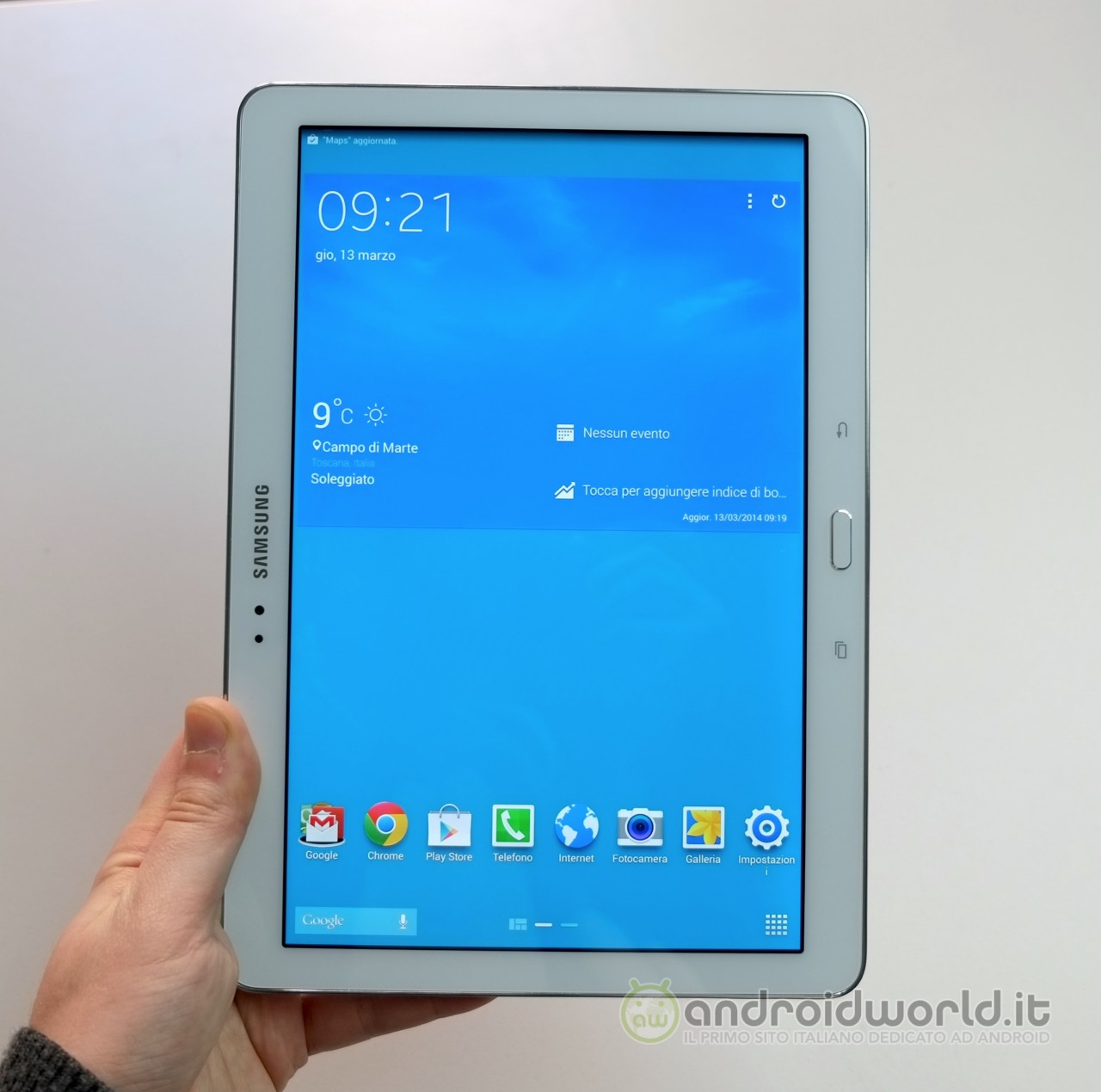 Samsung Galaxy Tab PRO 10.1, la recensione (foto e video) - AndroidWorld.it