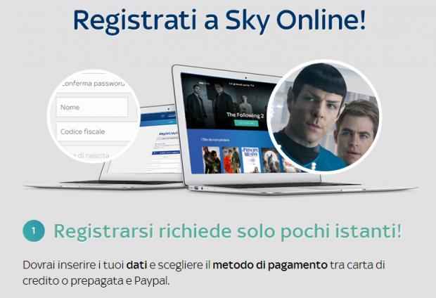 Sky Online Sample