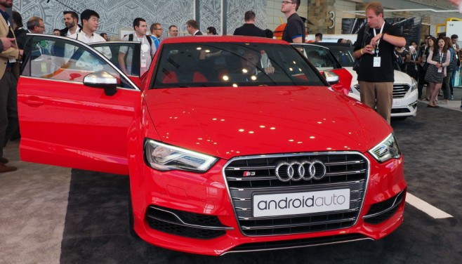 Android Auto Audi 8
