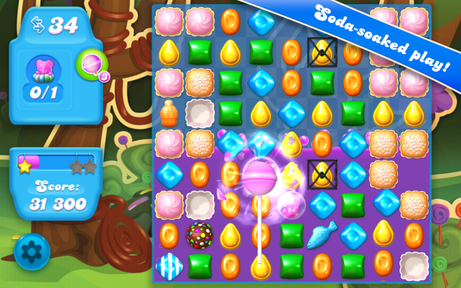 Trucchi, cheat, hack Crush Soda Saga 1.0.2 APK per Android: vite infinite e illimitate