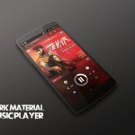 Dark Material Music Player CM12 - 1